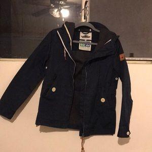 Penfield x Madewell Hudson Wax Rain Jacket